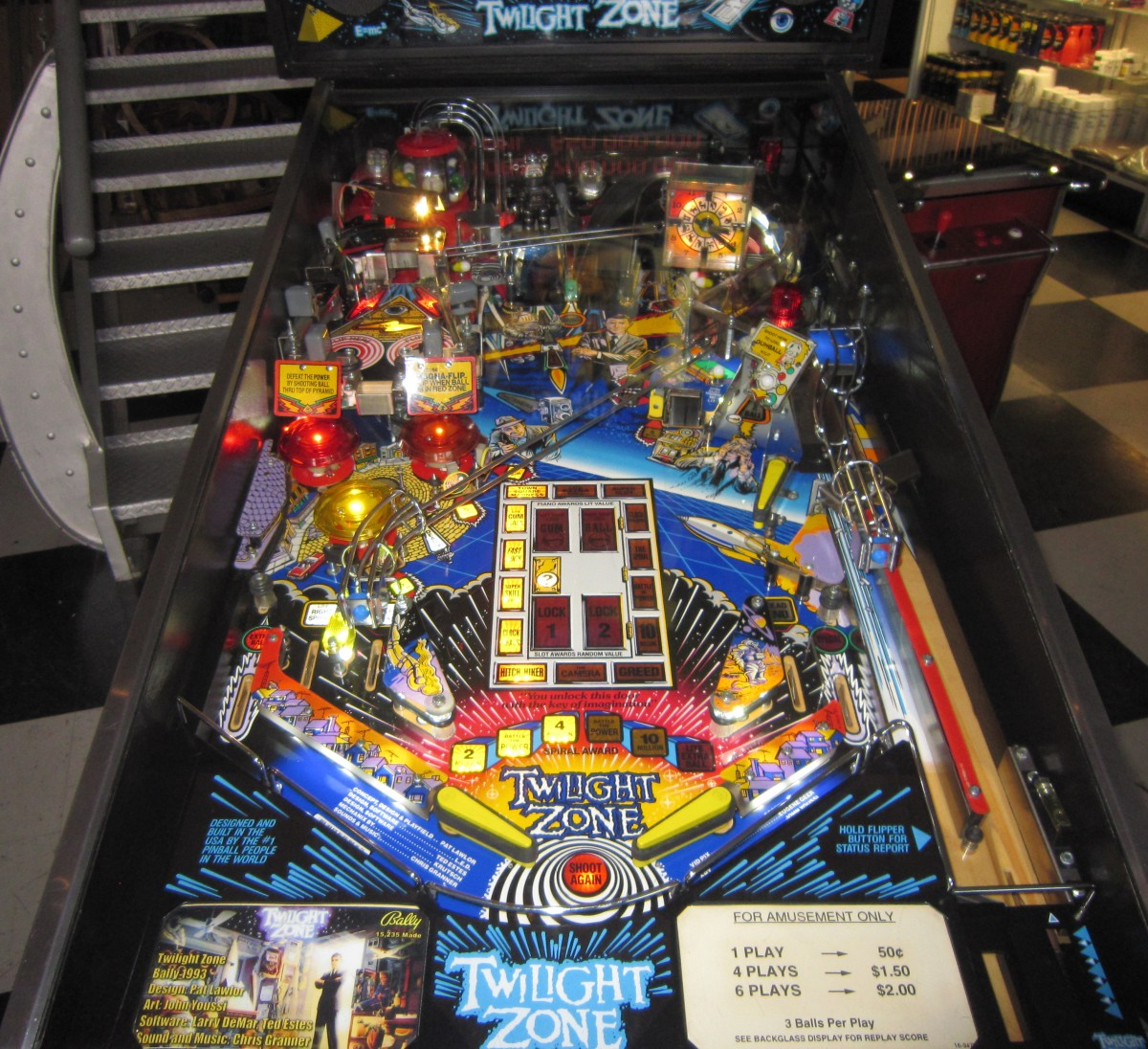 The Twilight Zone Pinball Machine Fun