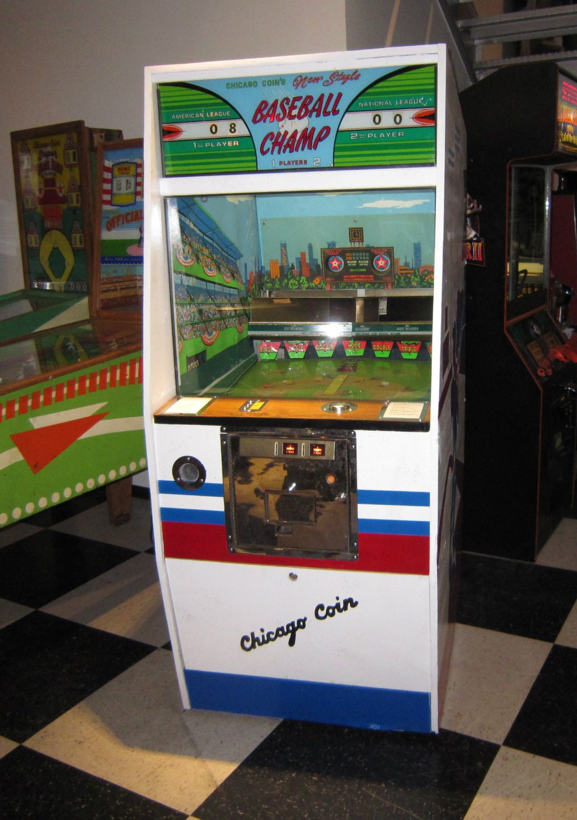 Baseball Champ Vintage Arcade Game | Fun!