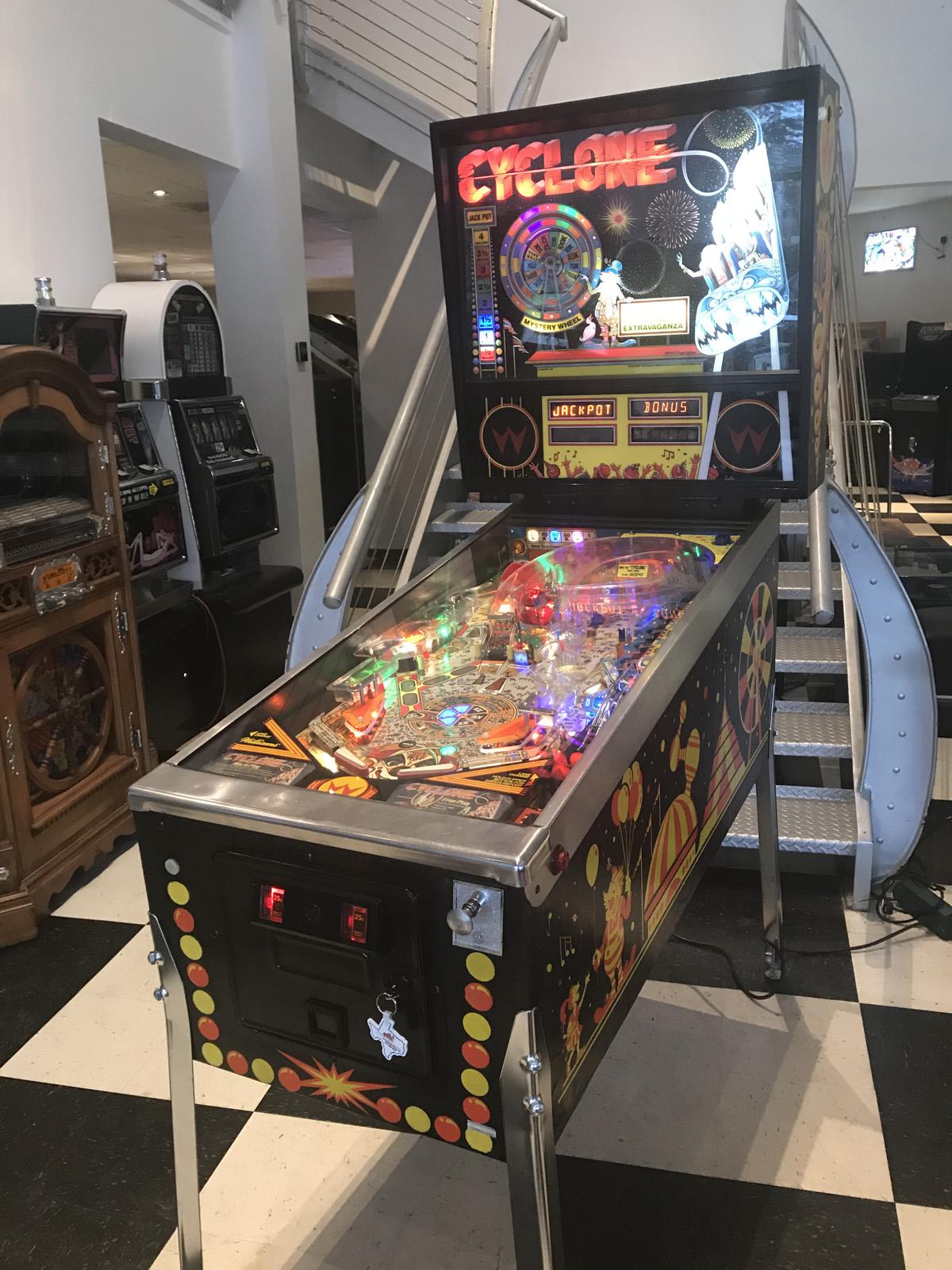 Cyclone Pinball Machine * | Fun!