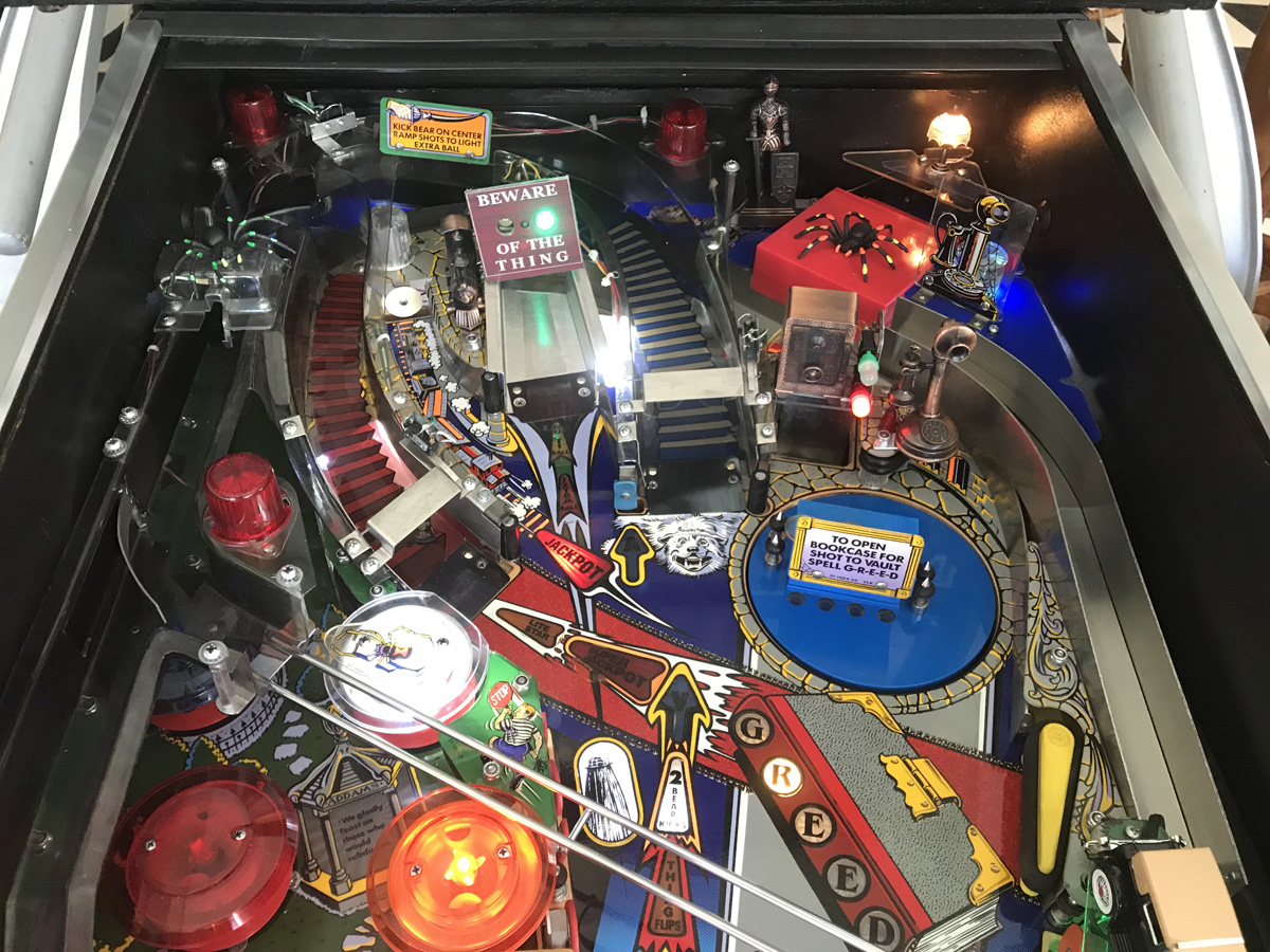The Addams Family Pinball Machine Fun Electrical Wiring Games Sold
