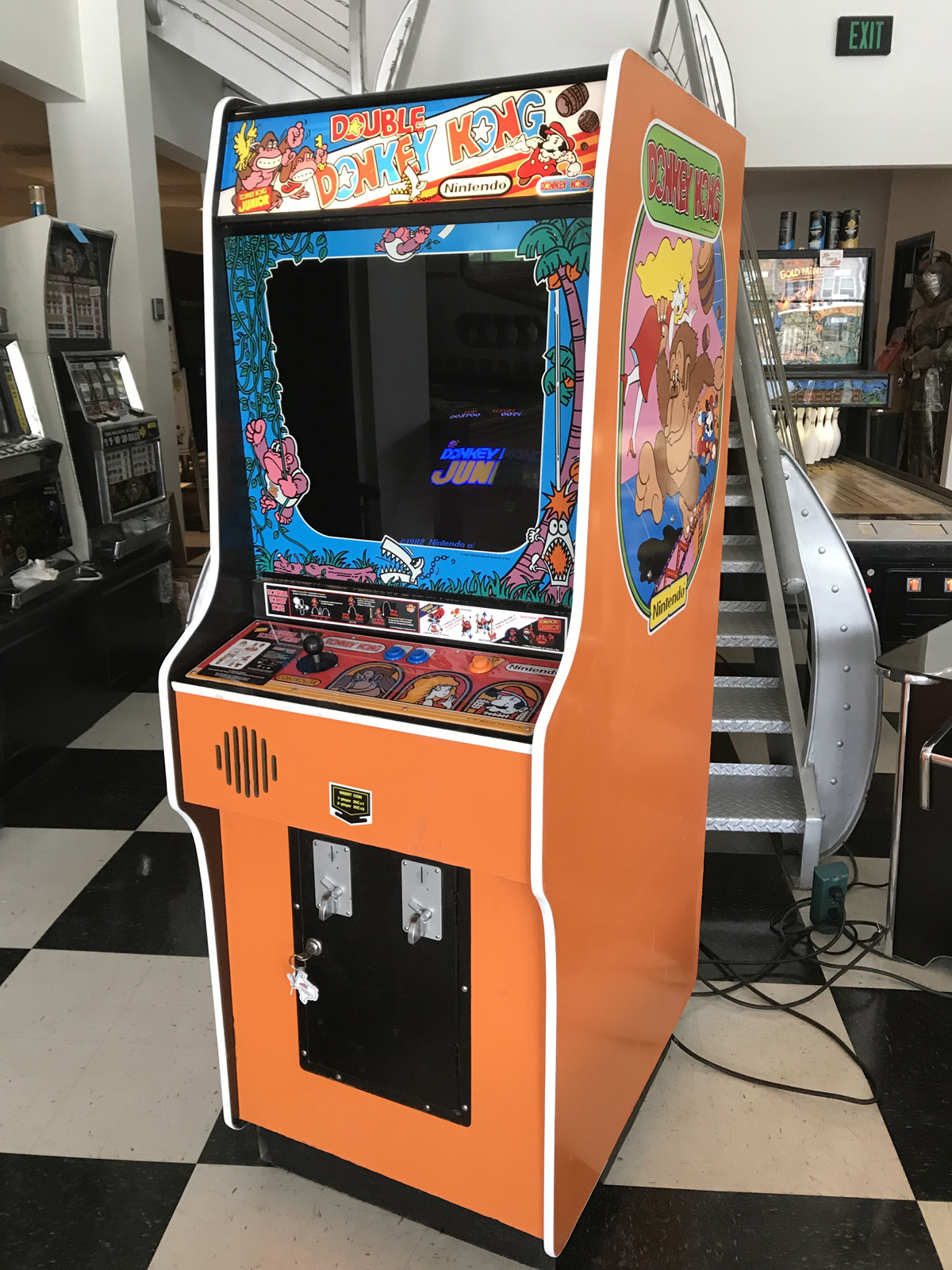 Double Donkey Kong Arcade Game Fun