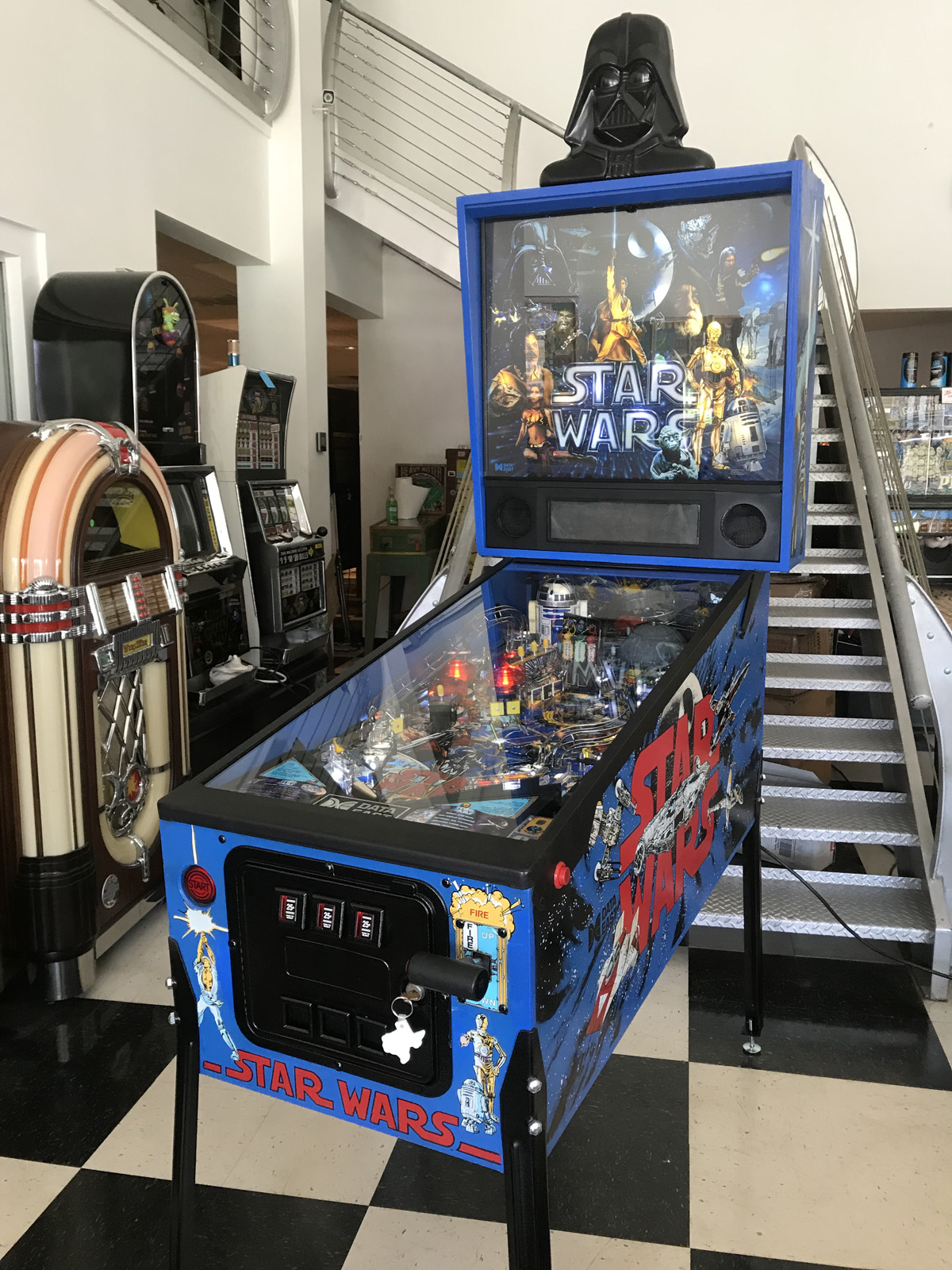 Star Wars Pinball Machine >> Star Wars Pinball Machine Fun