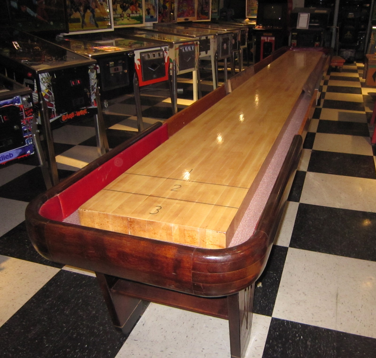 18 Foot Rock Ola 1949 Antique Shuffleboard