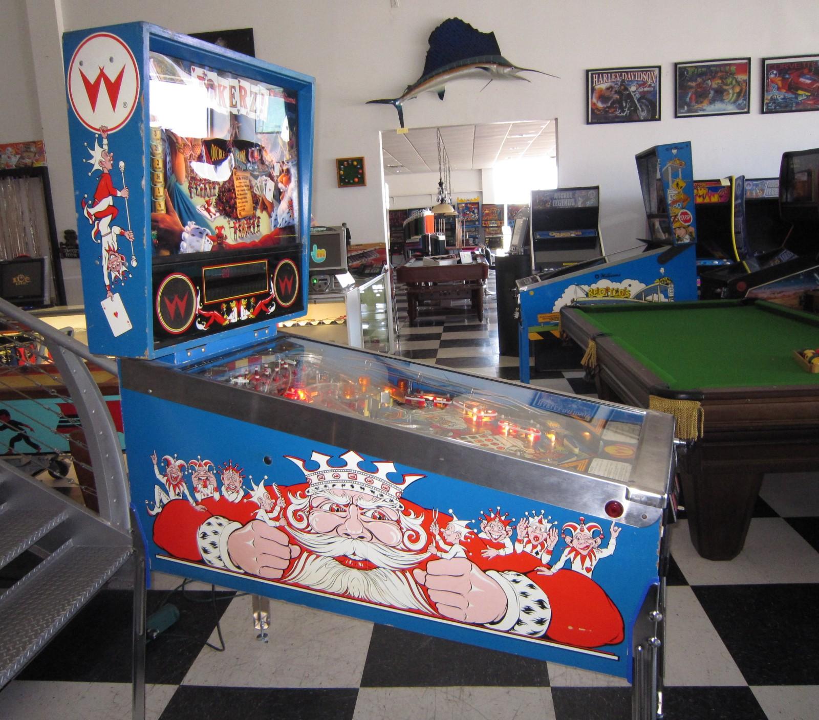 Jokerz Pinball Machine Fun