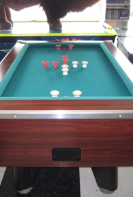 Rare CoinOp Bumper Pool Table By Great American Fun - Great american pool table