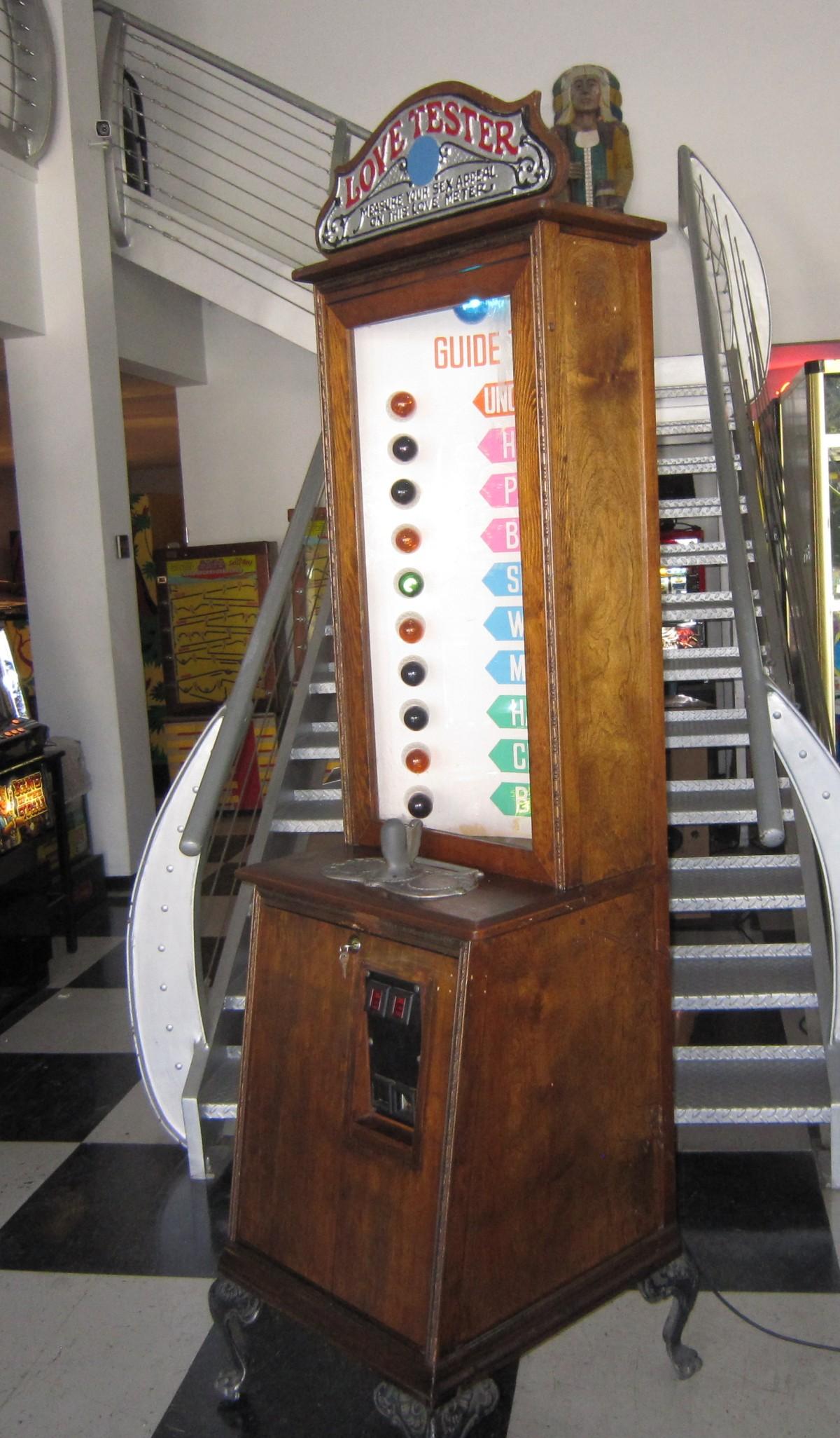 Love Tester Arcade Game