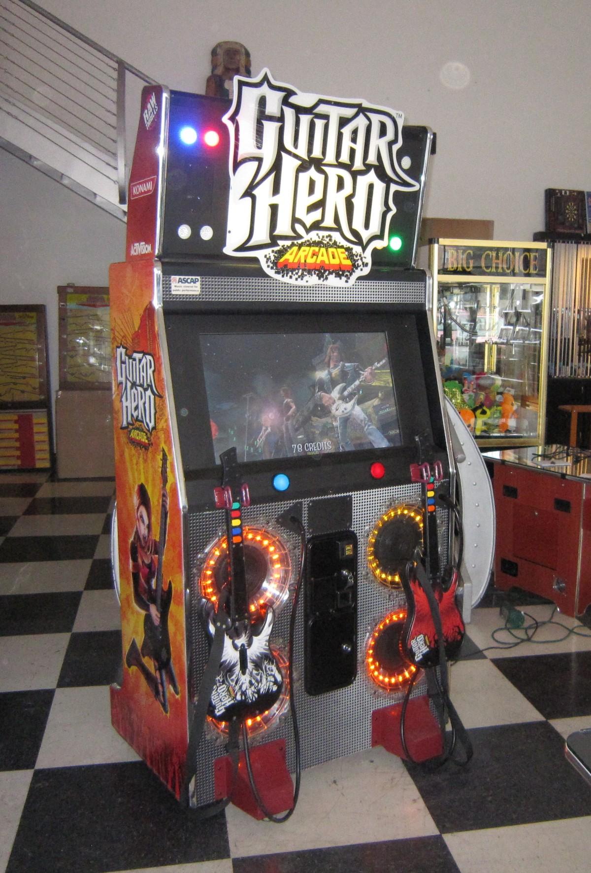 Guitar Hero Arcade Game Fun