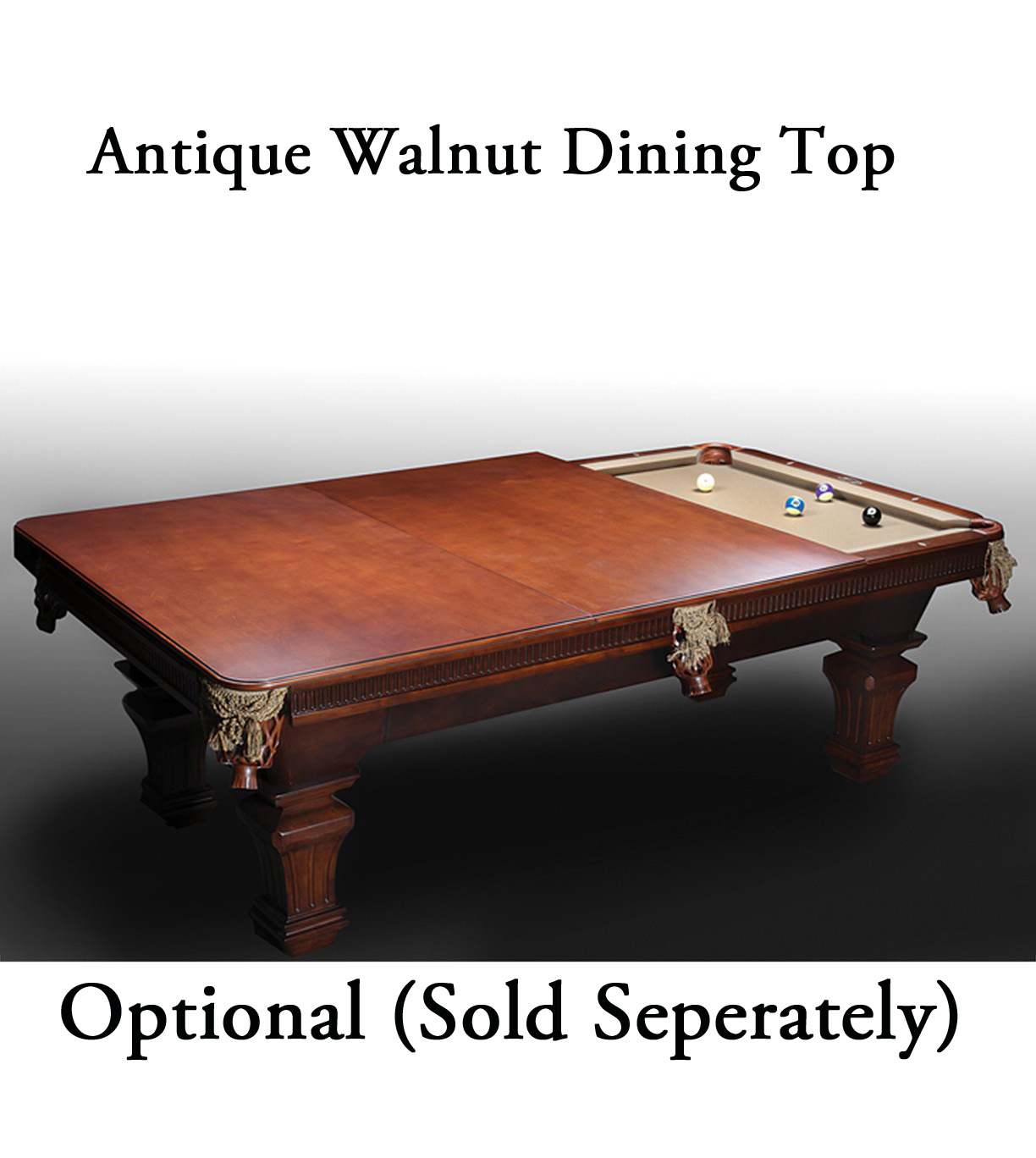 The washington 8 pool table antique walnut fun - Best billiard table manufacturers ...