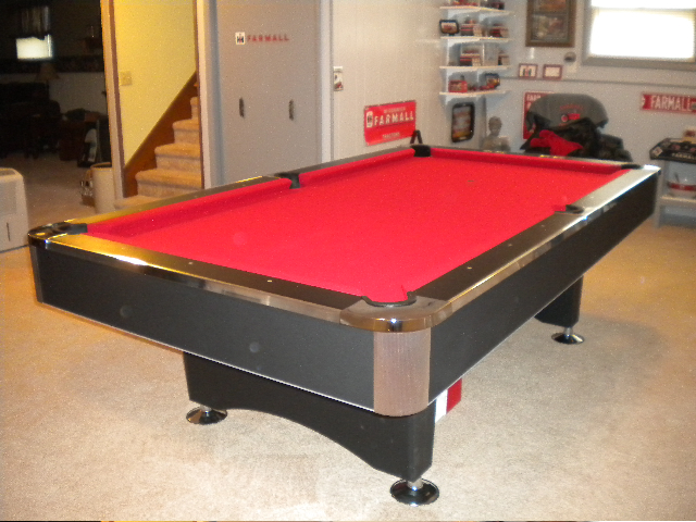 Well Known The Black Pearl 8u2032 Pool Table * | Fun! XO27