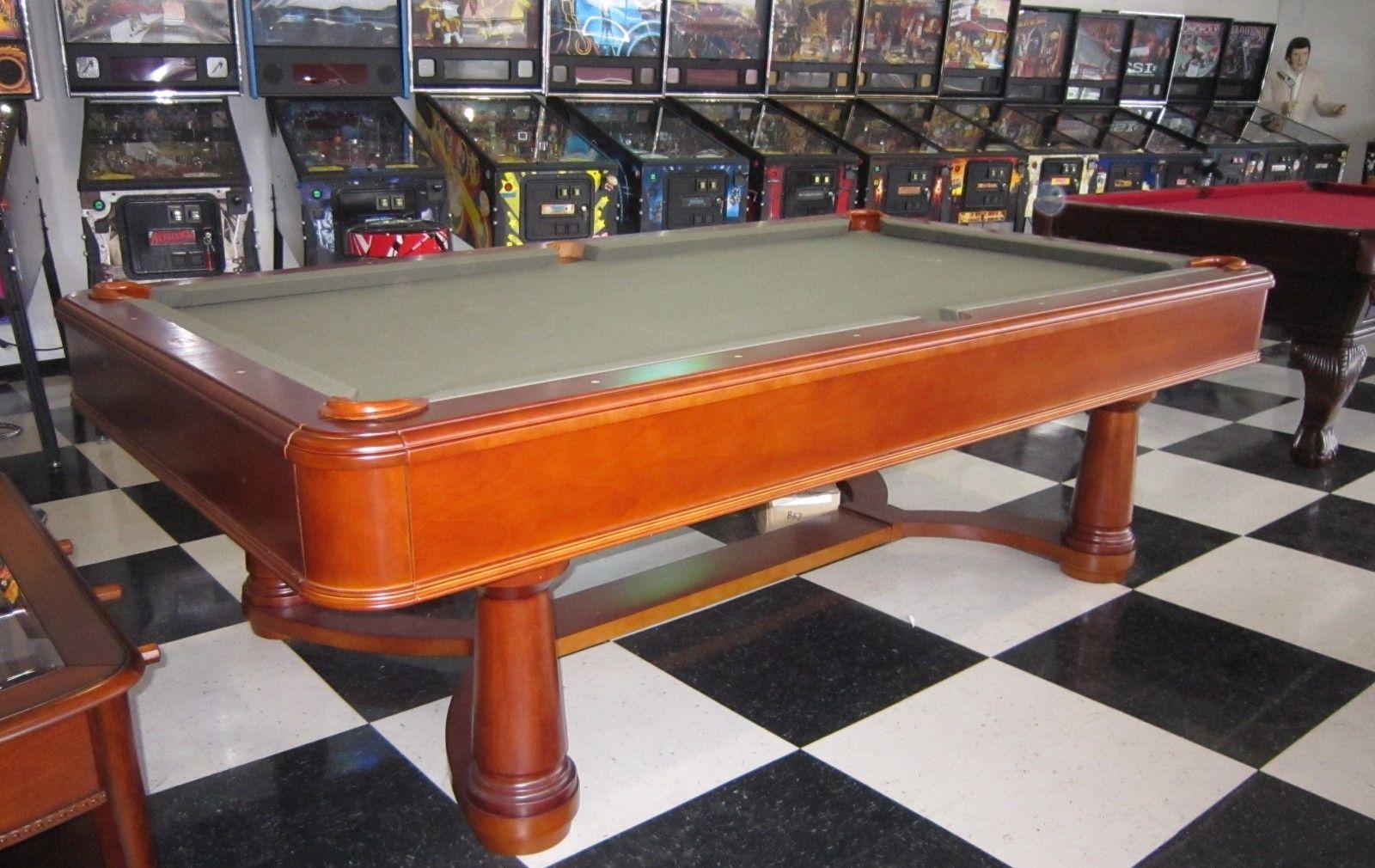 Monticello Pool Table Fruitwood Fun - Princeton pool table