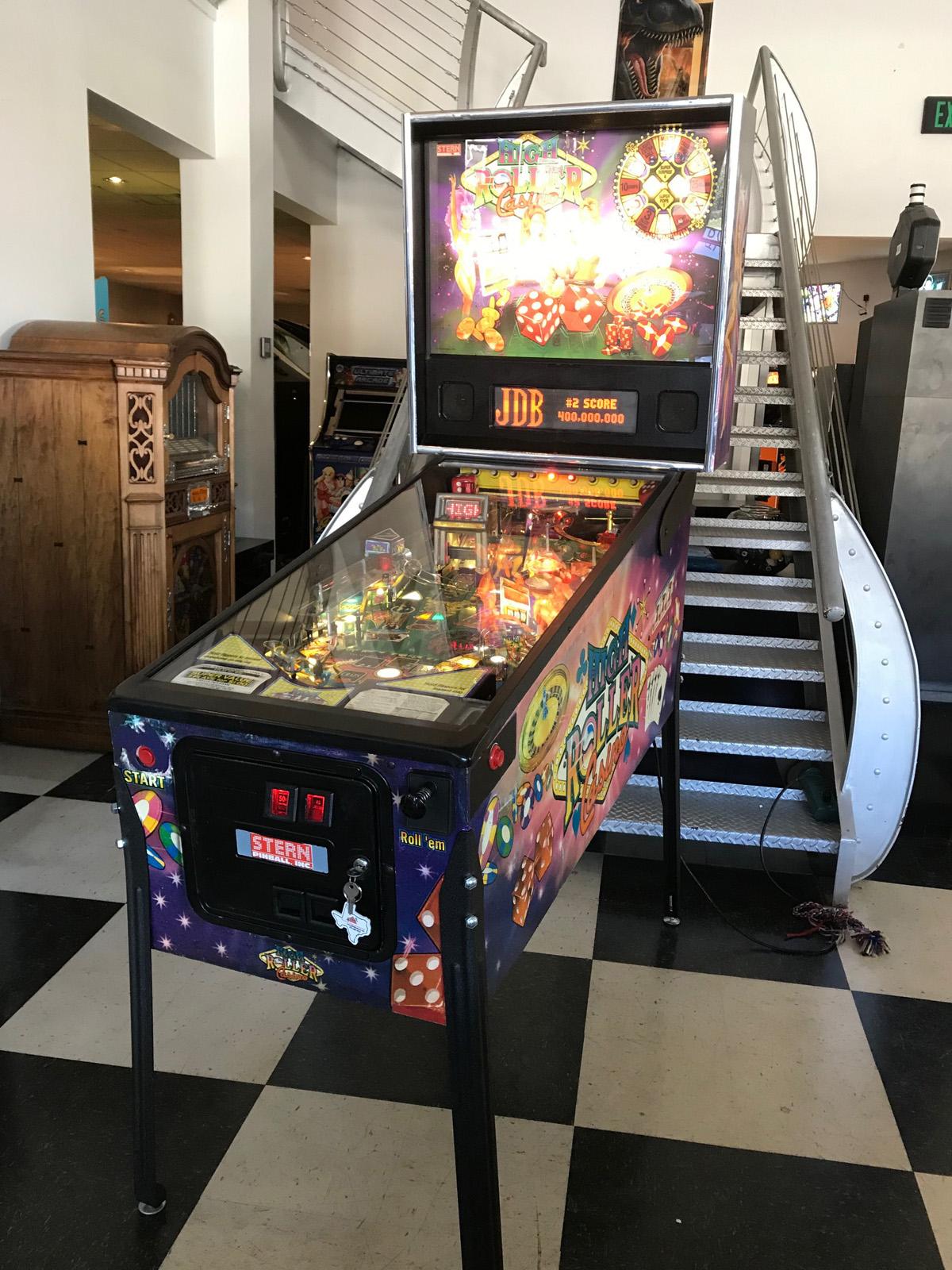 Casino pinball machine casino deposits
