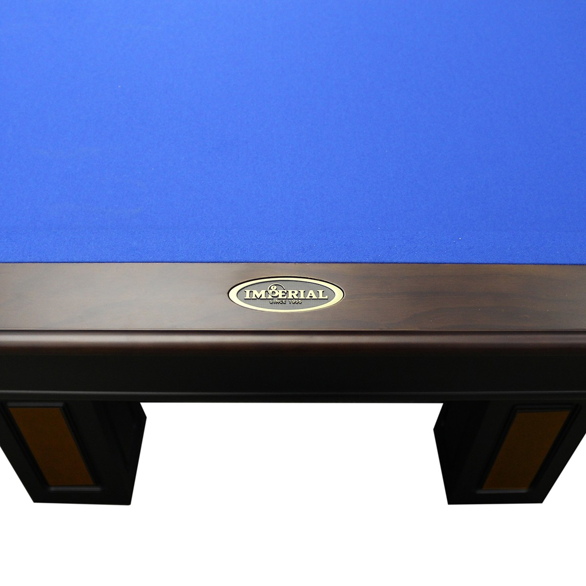 The Truro Pool Table Two Tone Antique Walnut Black Fun - Black pool table with blue felt