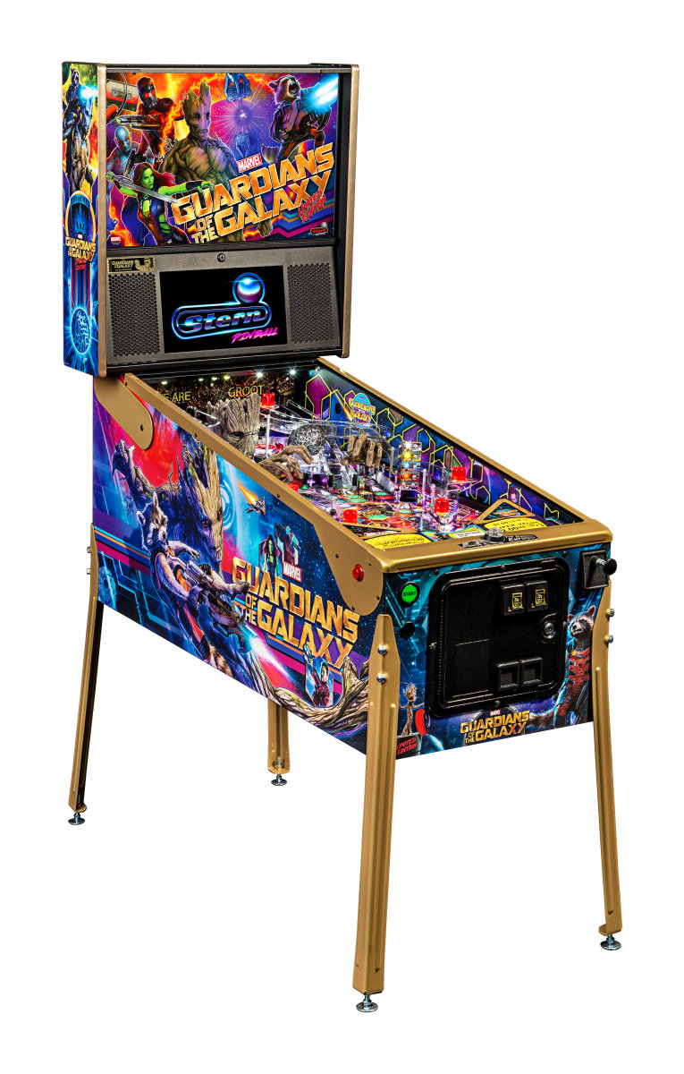 Guardians of the Galaxy (Limited Edition) Pinball Machine | Fun!