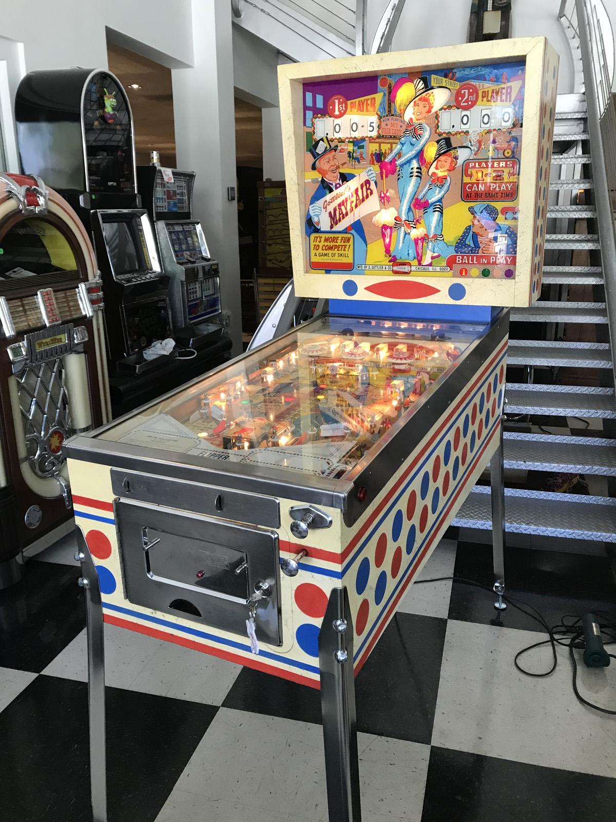 Mayfair Pinball Machine * | Fun!