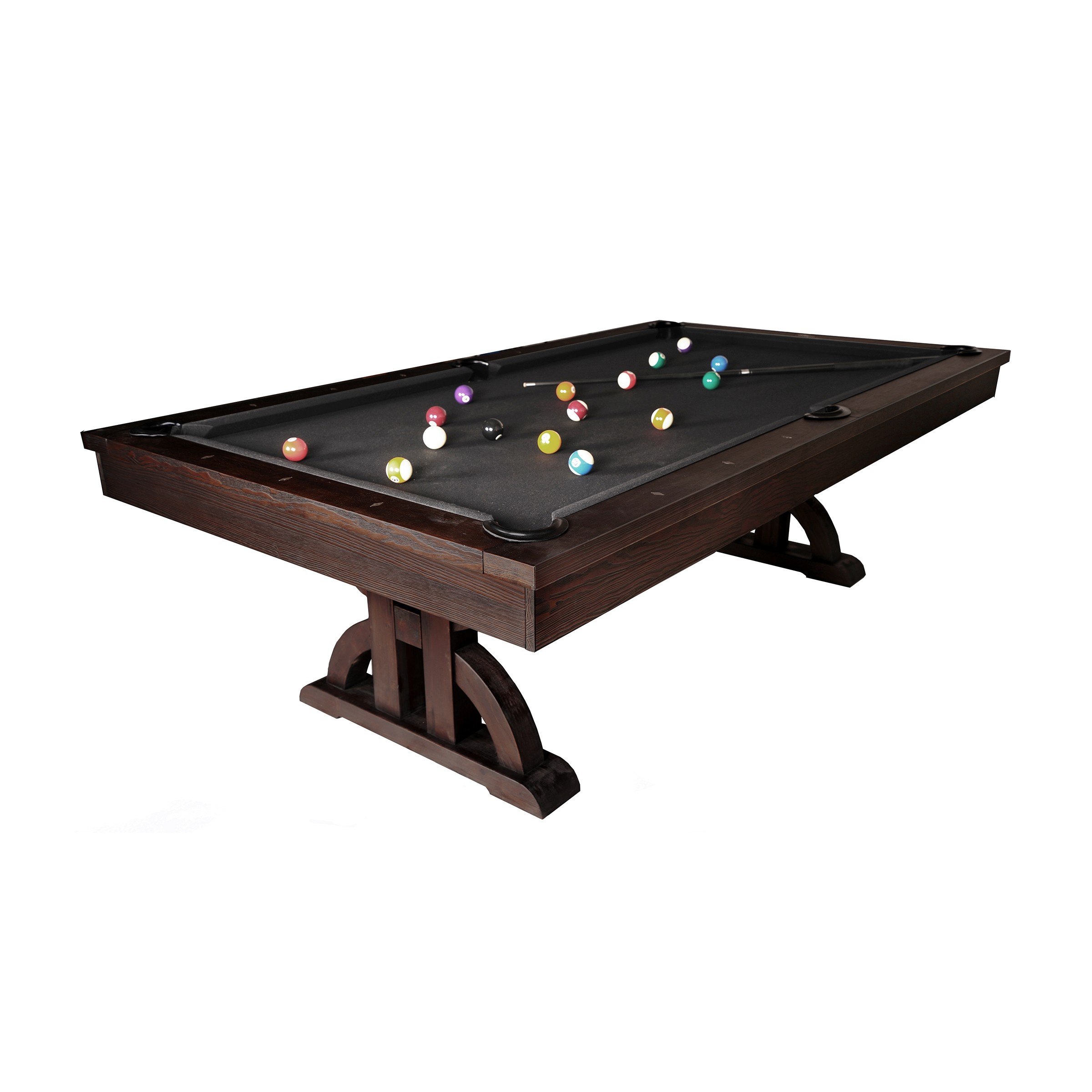 9322c8b602a The Drummond 8′ Pool Table (Weathered Dark Chestnut)