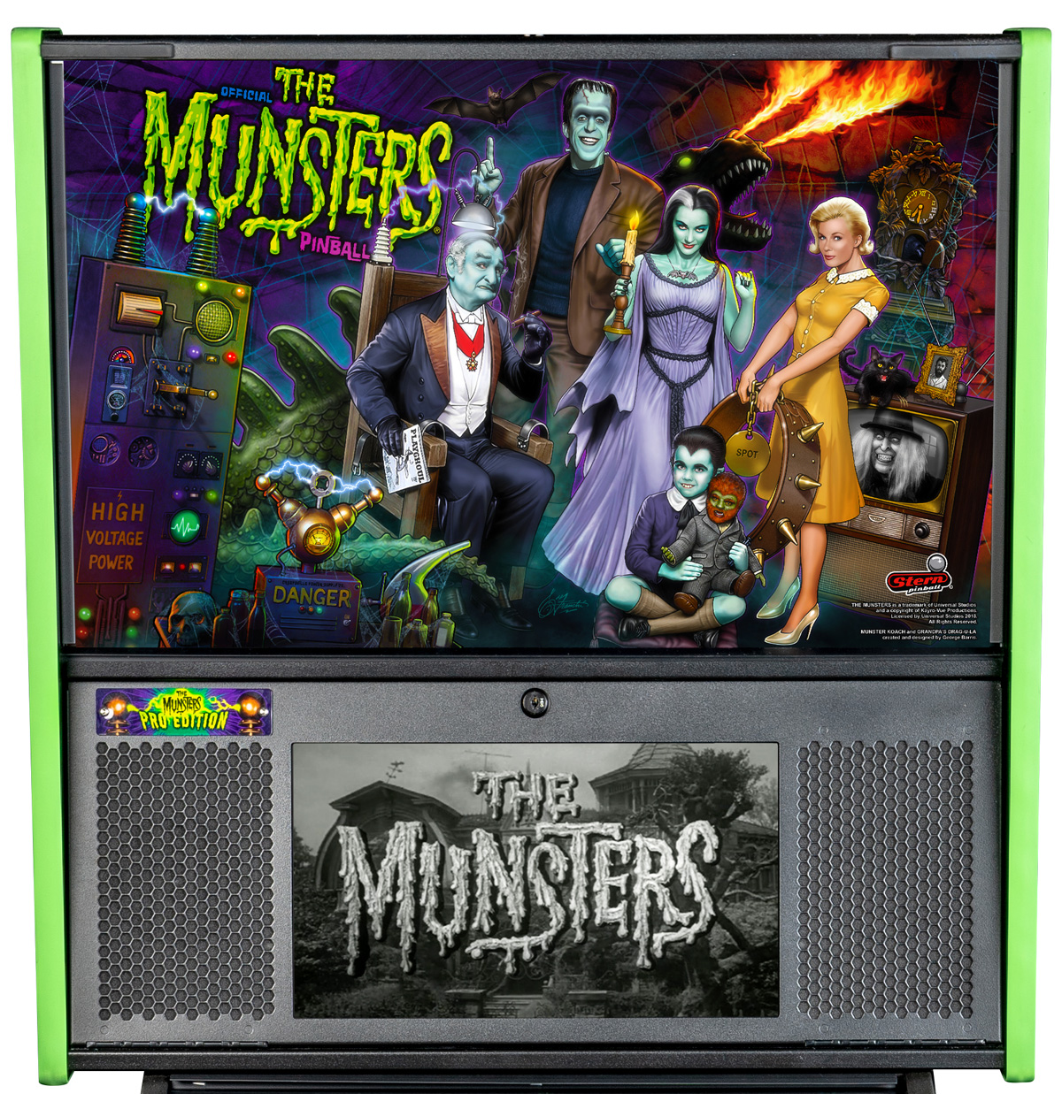 The Munsters (Pro) Pinball Machine | Fun!